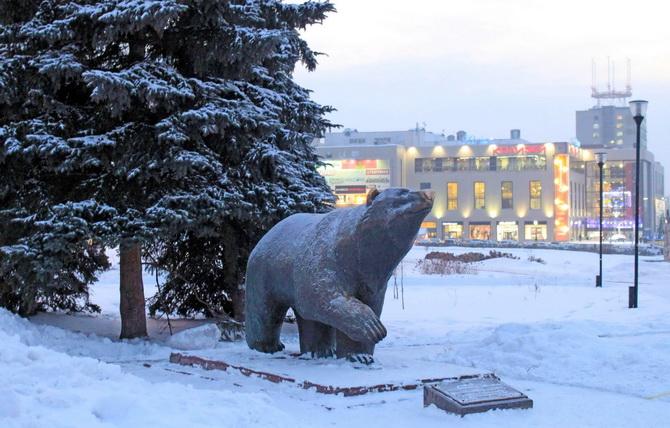 Пермь: город-медведь