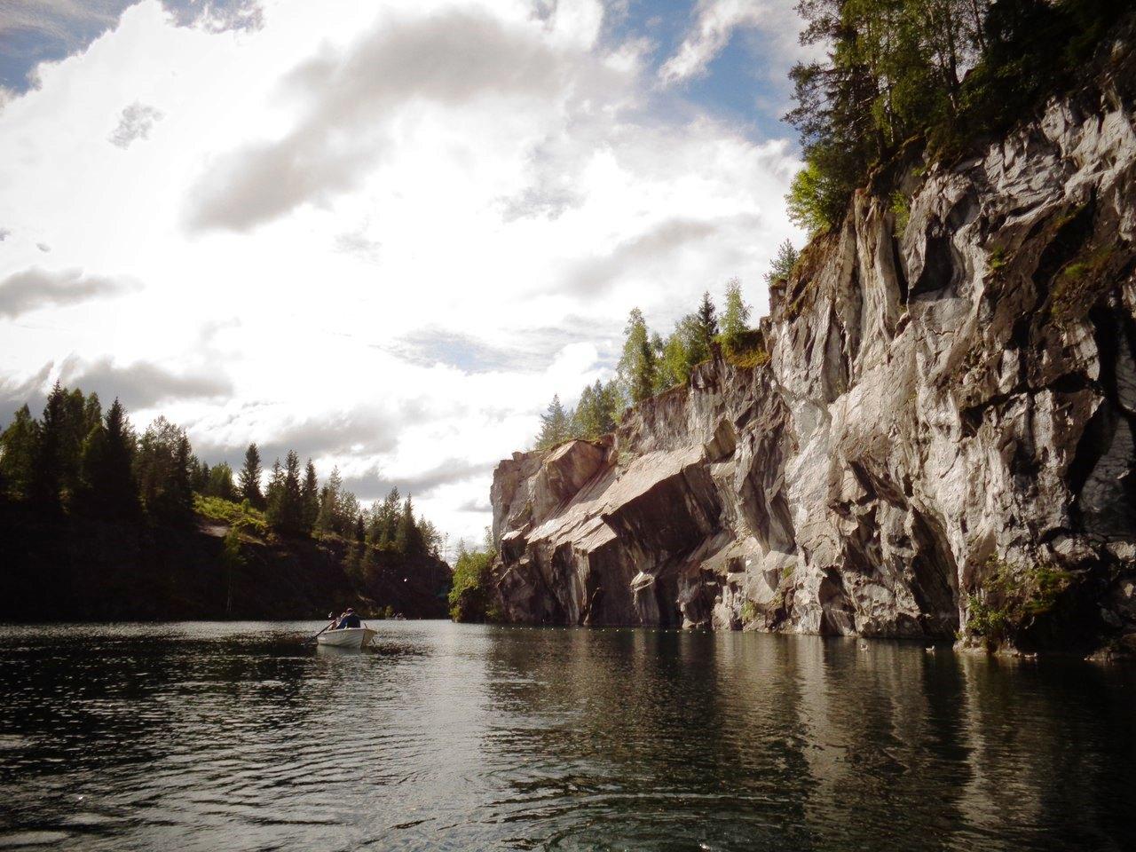 Три карельских мудреца: лес, вода и камень