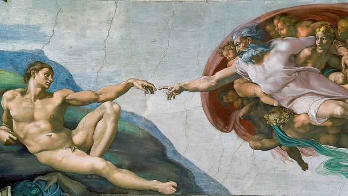 Вода камень точит, или история бессмертия Микеланджело