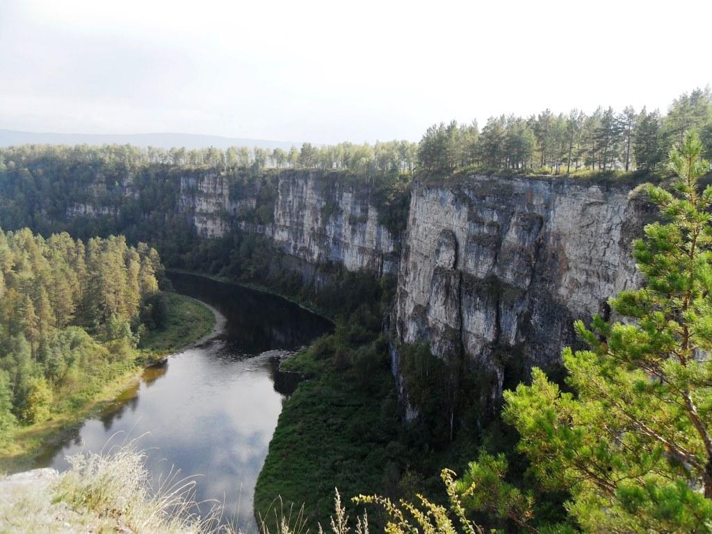 Притёсы, пороги, водопады