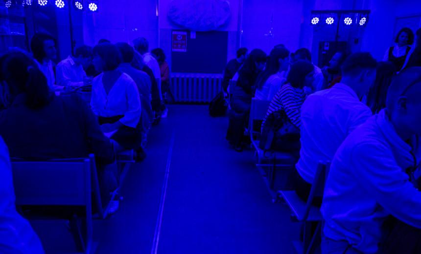 """Симулятор школы /Летний фестиваль искусств """"Точка доступа""""/ СПб"""